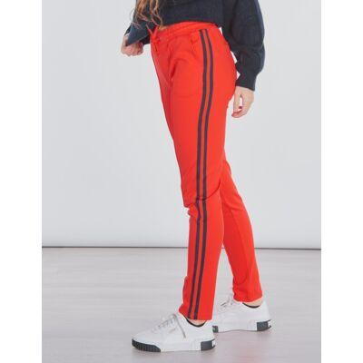 Garcia, Girls Pants, Rød, Bukser till Pige, 176 cm - Børnetøj - Garcia
