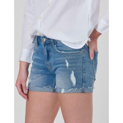 Grunt, Relax Lt. Vintage Shorts, Blå, Shorts till Pige, 13 år - Børnetøj - Grunt