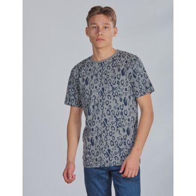 Grunt, Nuka Tee, Grå, T-shirt/toppe till Dreng, XL - Børnetøj - Grunt