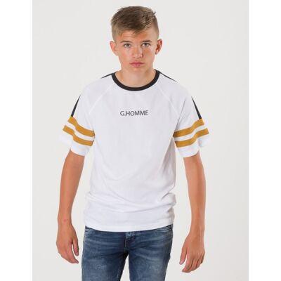 Grunt, Alexander Tee, Hvid, T-shirt/toppe till Dreng, L - Børnetøj - Grunt