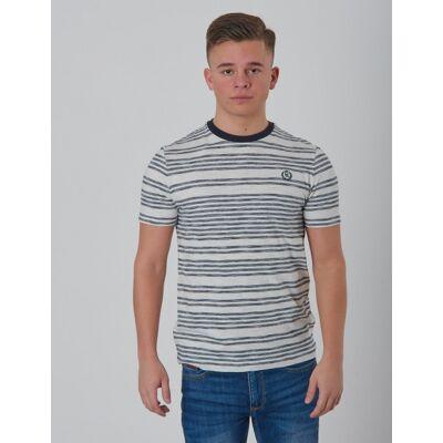 Henri Lloyd, YD Striped T-Shirt, Blå, T-shirt/toppe till Dreng, 10-11 år - Børnetøj - Henri Lloyd