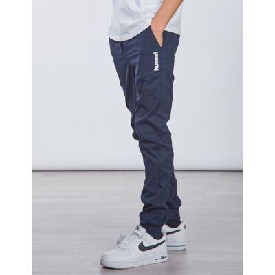 Hummel, hmlGILBERT PANTS, Blå, Bukser till Dreng, 140 cm - Børnetøj - Hummel