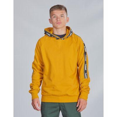 Hummel, hmlLARK HOODIE, Gul, Hættetrøjer till Dreng, 140 cm - Børnetøj - Hummel