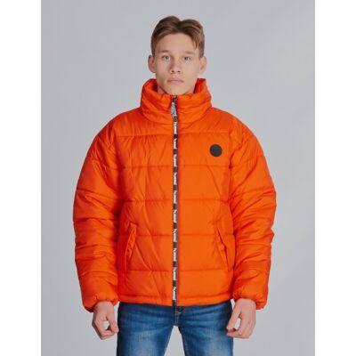 Hummel, NORTH JACKET, Orange, Jakker/Fleece/Veste till Dreng, 140 cm - Børnetøj - Hummel