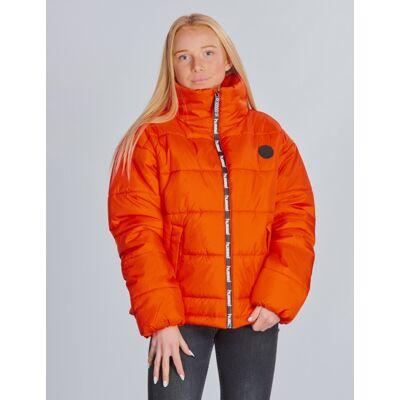 Hummel, NORTH JACKET, Orange, Jakker/Fleece/Veste till Pige, 152 cm - Børnetøj - Hummel