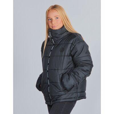 Hummel, NORTH JACKET, Sort, Jakker/Fleece/Veste till Pige, 140 cm - Børnetøj - Hummel