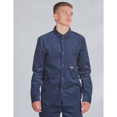 Hummel, hmlPELLE SHIRT, Blå, Skjorter till Dreng, 176 cm - Børnetøj - Hummel