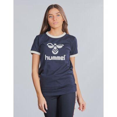 Hummel, hmlKAMMA T-SHIRT S/S, Blå, T-shirt/toppe till Pige, 140 cm - Børnetøj - Hummel
