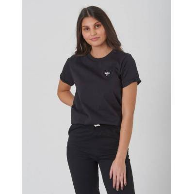 Hummel, WOLF T-SHIRT S/S, Sort, T-shirt/toppe till Pige, 128 cm - Børnetøj - Hummel