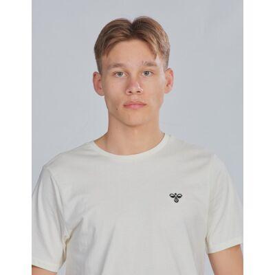 Hummel, hmlUNI T-SHIRT SS, Hvid, T-shirt/toppe till Dreng, 176 cm - Børnetøj - Hummel