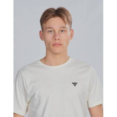 Hummel, hmlUNI T-SHIRT SS, Hvid, T-shirt/toppe till Dreng, 140 cm - Børnetøj - Hummel