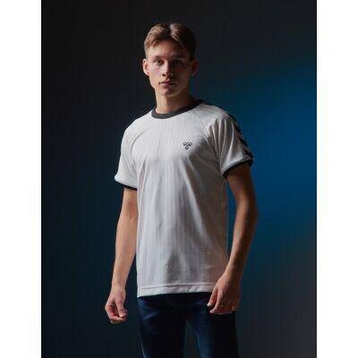 Hummel, hmlCLARK T-SHIRT S/S, Hvid, T-shirt/toppe till Dreng, 140 cm - Børnetøj - Hummel