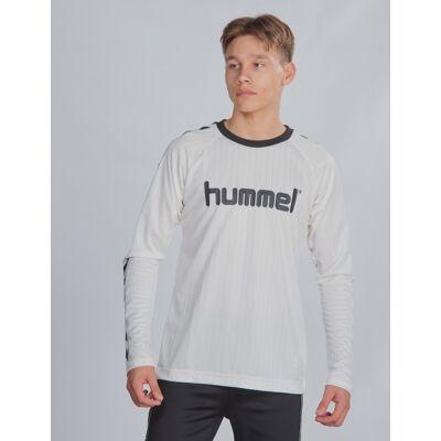 Hummel, hmlCLARK T-SHIRT L/S, Hvid, T-shirt/toppe till Dreng, 176 cm - Børnetøj - Hummel