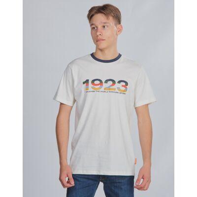 Hummel, hmlNIKO T-SHIRT S/S, Hvid, T-shirt/toppe till Dreng, 176 cm - Børnetøj - Hummel