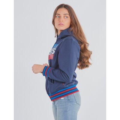 Levis, Sportswear Logo, Blå, Hættetrøjer till Pige, 16 år - Børnetøj - Levis