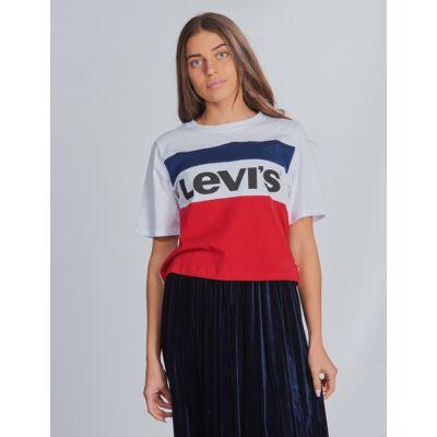 Levis, Colorblock Crop, , T-shirt/toppe till Pige, 12 år - Børnetøj - Levis
