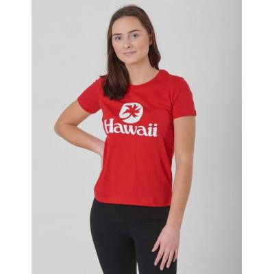 DESIGNERS, REMIX GIRLS, Stanley Hawaii, Rød, T-shirt/toppe till Pige, 16 år - Børnetøj - DESIGNERS, REMIX GIRLS