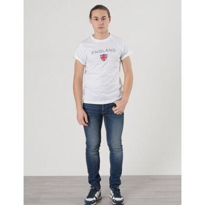 MarQy, Britain SS Tee, Hvid, T-shirt/toppe till Dreng, 158-164 - Børnetøj - MarQy