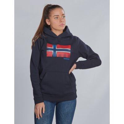 Napapijri, K BIBU H, Blå, Hættetrøjer till Pige, 10 år - Børnetøj - Napapijri