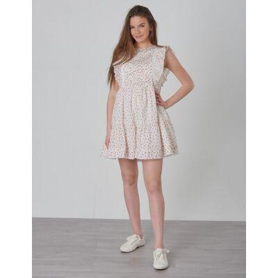 Ralph Lauren, FLORAL DRESS-DRESSES-WOVEN, Hvid, Kjoler/nederdele till Pige, Size 10 - Børnetøj - Ralph Lauren