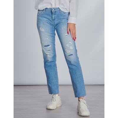 Replay, Pants, Hvid, Jeans till Pige, 10 år - Børnetøj - Replay