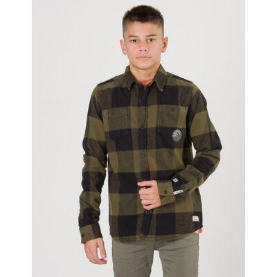 Retour, Jorn Shirt, Grøn, Skjorter till Dreng, 15-16 år - Børnetøj - Retour