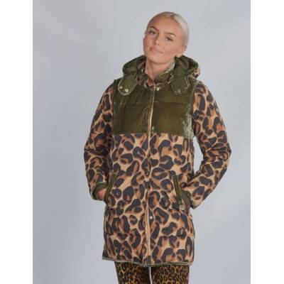 Scotch & Soda, Longer length padded jacket, Grøn, Jakker/Fleece/Veste till Pige, 16 år - Børnetøj - Scotch & Soda