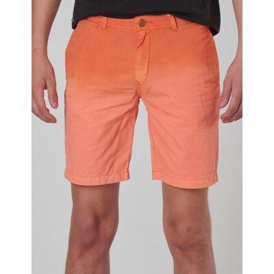 Scotch & Soda, Lightweight chino shorts with washing, Orange, Shorts till Dreng, 10 år - Børnetøj - Scotch & Soda