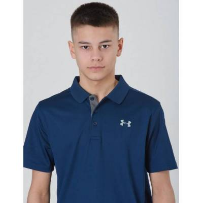 Under Armour, PERFORMANCE POLO, Blå, Polo/Rugbytrøjer till Dreng, S - Børnetøj - Under Armour