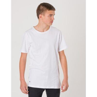WAY INK, JAY SS TEE, Hvid, T-shirt/toppe till Dreng, 134-140 - Børnetøj - WAY INK