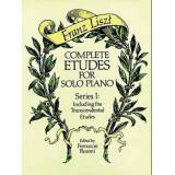 Franz Liszt Complete Etudes for Solo Piano, Series I
