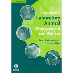 Maggie Lloyd Handbook of Laboratory Animal Management and Welfare