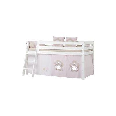 Hoppekids halvhøj børneseng - Premium - Fairytale Flower - Babymøbler - Array