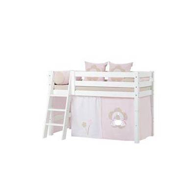 Hoppekids halvhøj juniorseng - Premium - Fairytale Flower - Babymøbler - Array