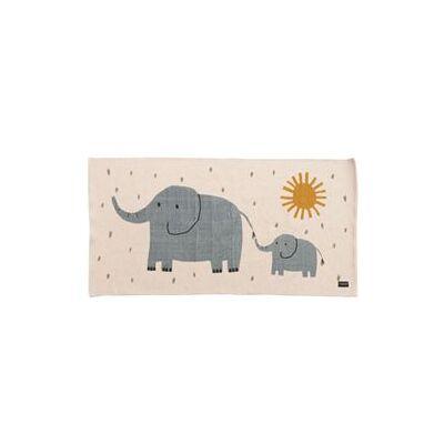 Roommate gulvtæppe - Elephant - Baby Spisetid - Array