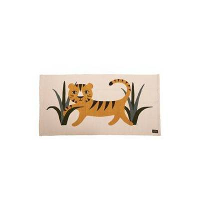 Roommate gulvtæppe - Tiger - Baby Spisetid - Array