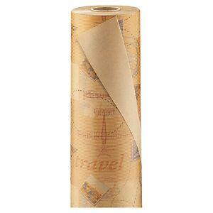 Gavepapir Verdenskort 0,7x100m - 60gm²