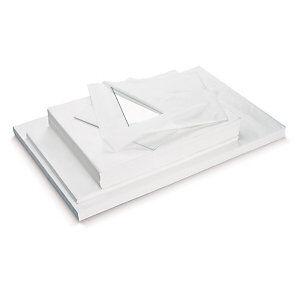 Silkepapir Hvid 18gm² - 50x75cm