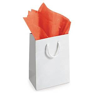 Silkepapir Orange, 50x75cm, 480 Stk