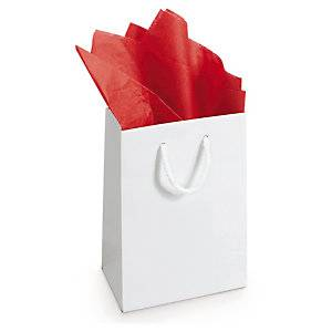 Silkepapir Rød 18gm² - 50x75cm
