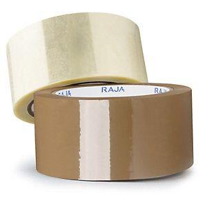 PP Tape Lydsvag Rajatape Brun 60 My - 50 Mm x 66 M (36)