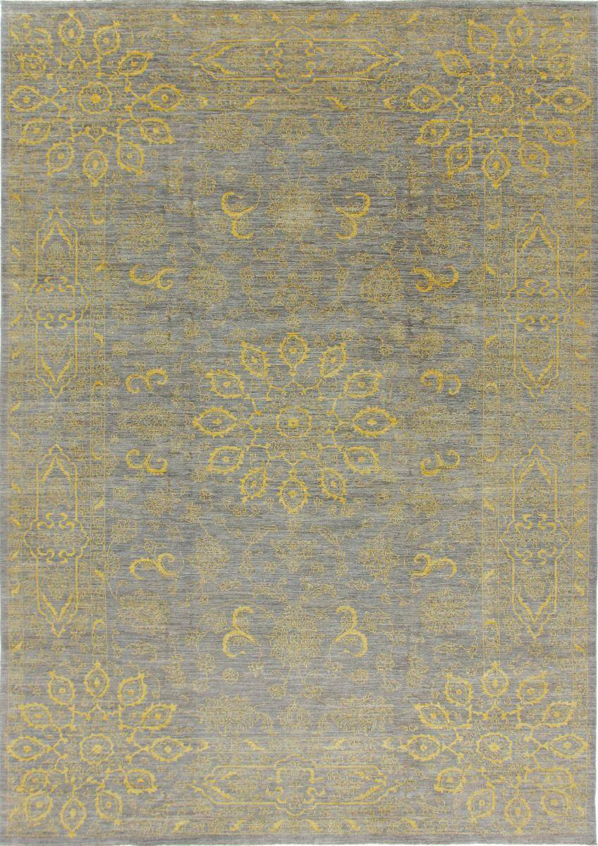 Nain Trading Arijana Design Tæppe 433x305 Beige/Dark Brown (Pakistan, Villa, Käsinommeltu)