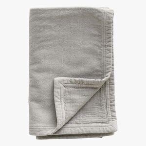 Tine K. Home Håndklæde, dobbeltlag, 50 x 100 cm, bomuld, grey