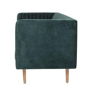 Bloomingville Nolan Sofa, Grøn, Polyester