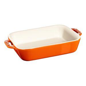 Staub Rektangulært fad, orange, 19x12cm, Tilberedning, Orange