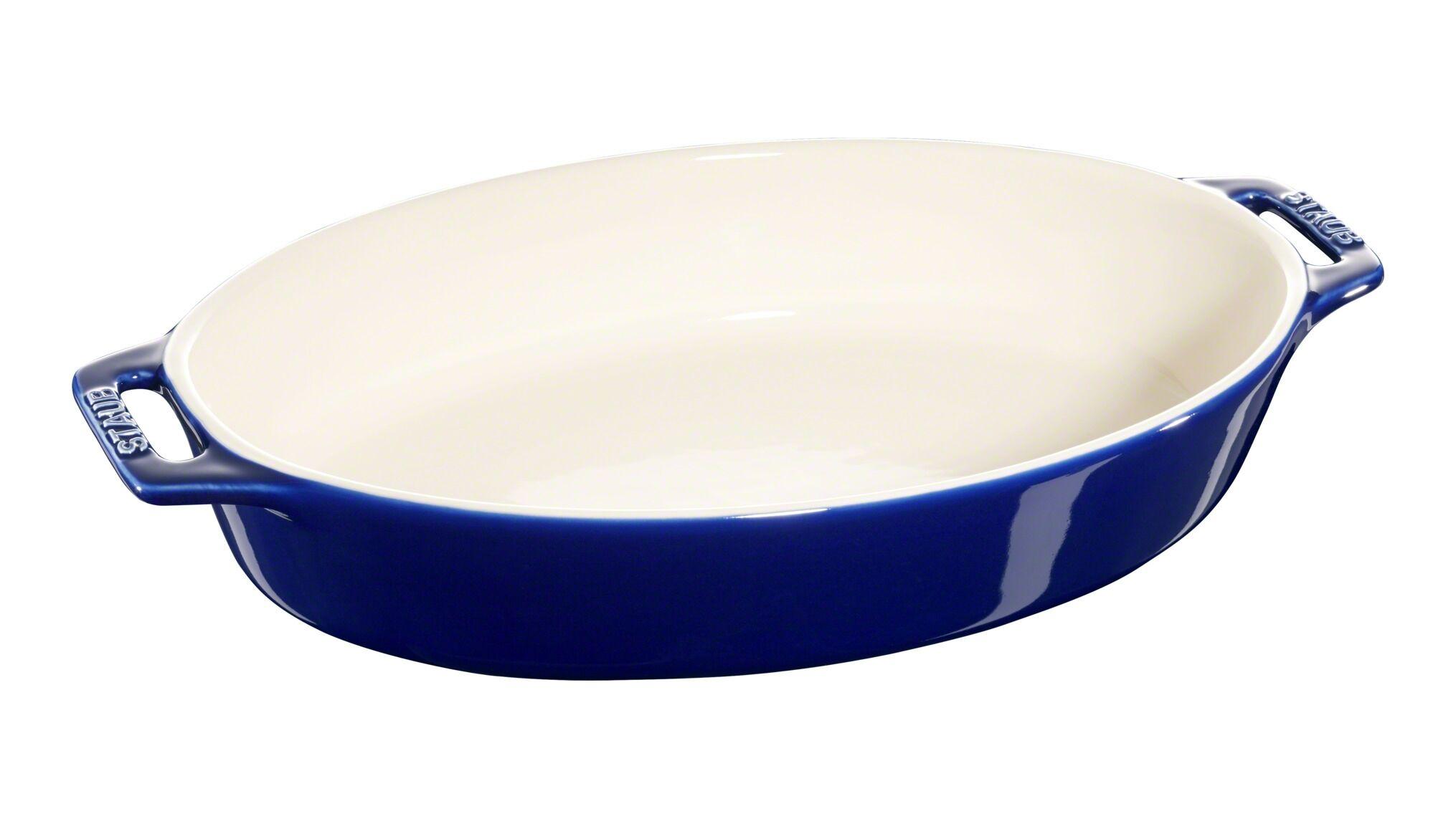 Staub Ovalt fad, mørkeblå, 36x21cm, Tilberedning, Mørkeblå