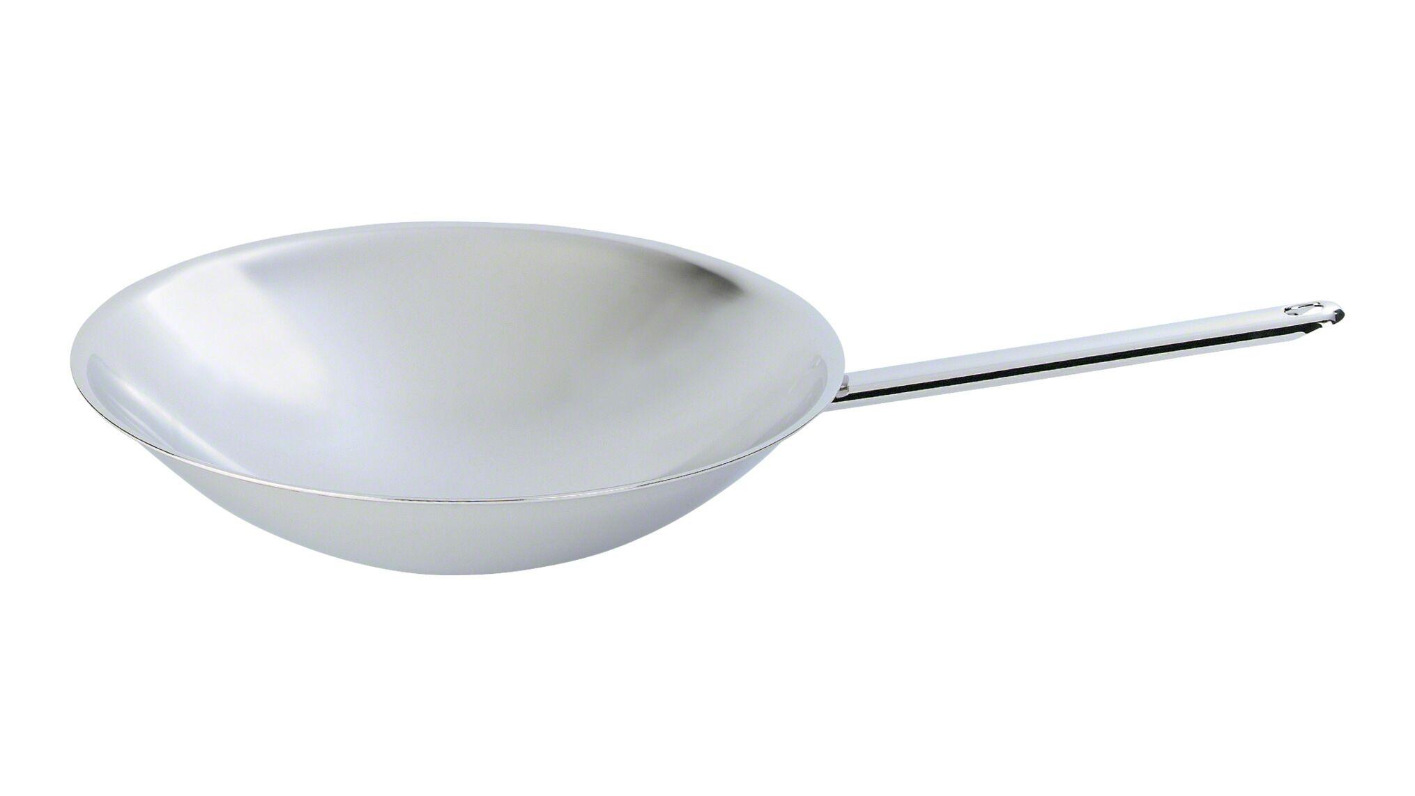Demeyere Klassisk wok i rustfrit stål, Wok, 36 cm