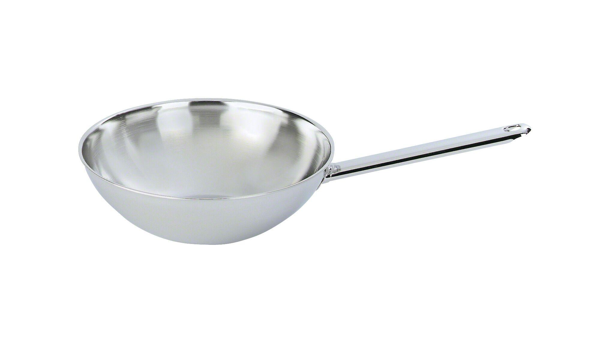 Demeyere Wok i rustfrit stål, Wok, 30 cm