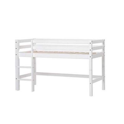 Hoppekids Halvhøj seng, Basic Delbar VÆLG STØRRELSE - Hoppekids - Babymøbler - Hoppekids