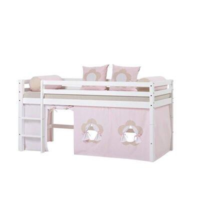 Hoppekids Forhæng, Fairytale Flower til halvhøj seng, Hoppekids - Babymøbler - Hoppekids